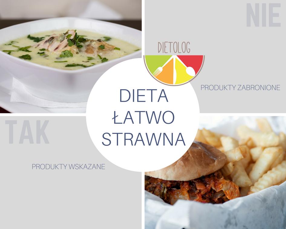 Dieta Lekkostrawna Ogolne Zasady Dietolog