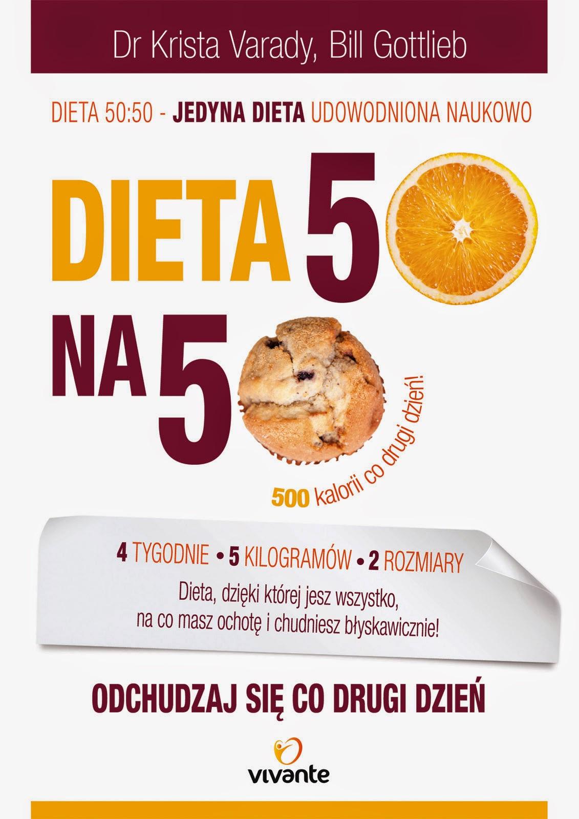 Dieta 50 Na 50 Recenzja Książki I Konkurs Dietolog