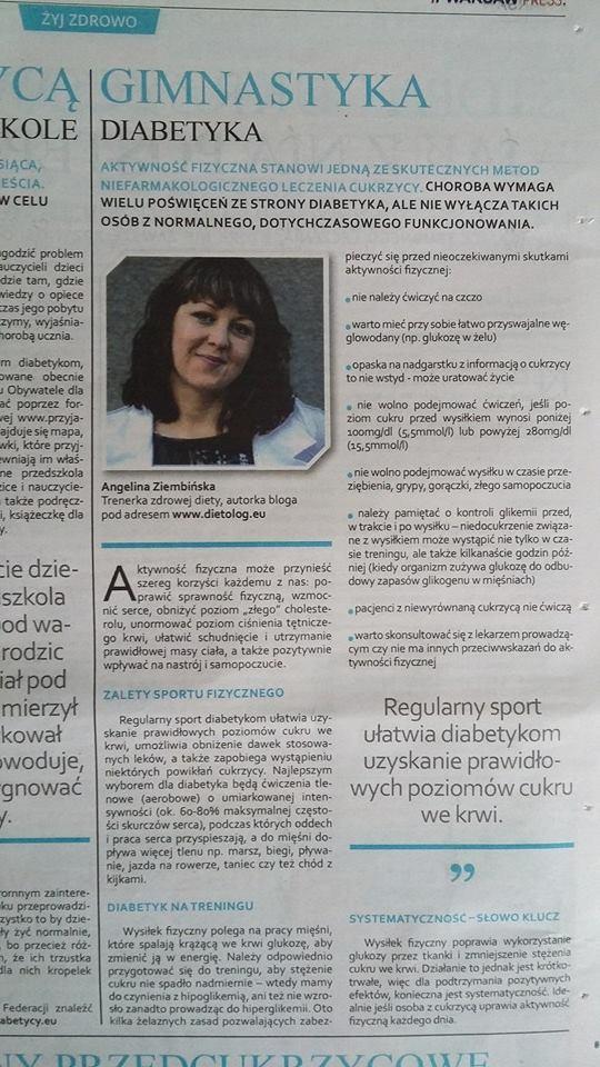 Gimnastyka Diabetyka Gazeta Wyborcza Jak Pokonac Cukrzyce 27