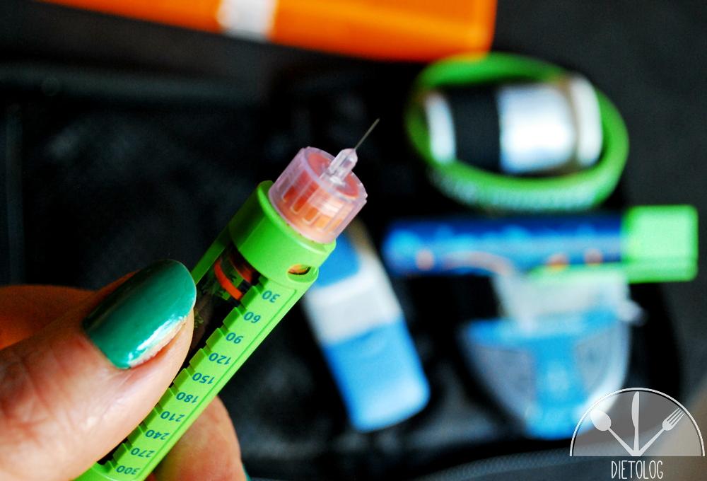 igła w penie do podawania insuliny cukrzyca