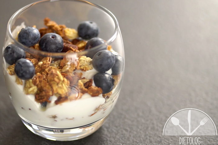 granola deser dla diabetyka