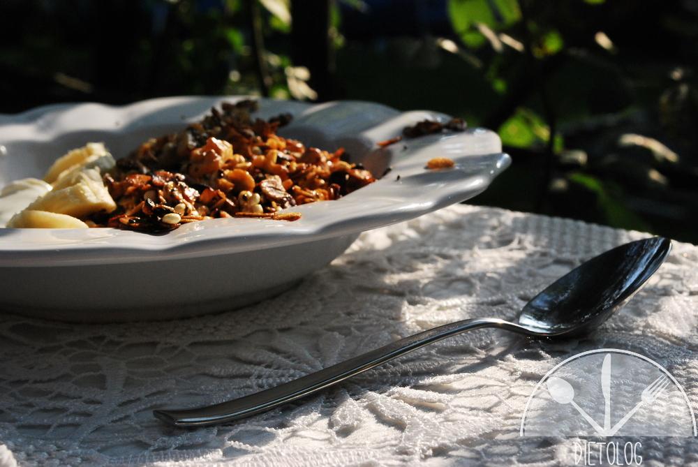 granola z patelni
