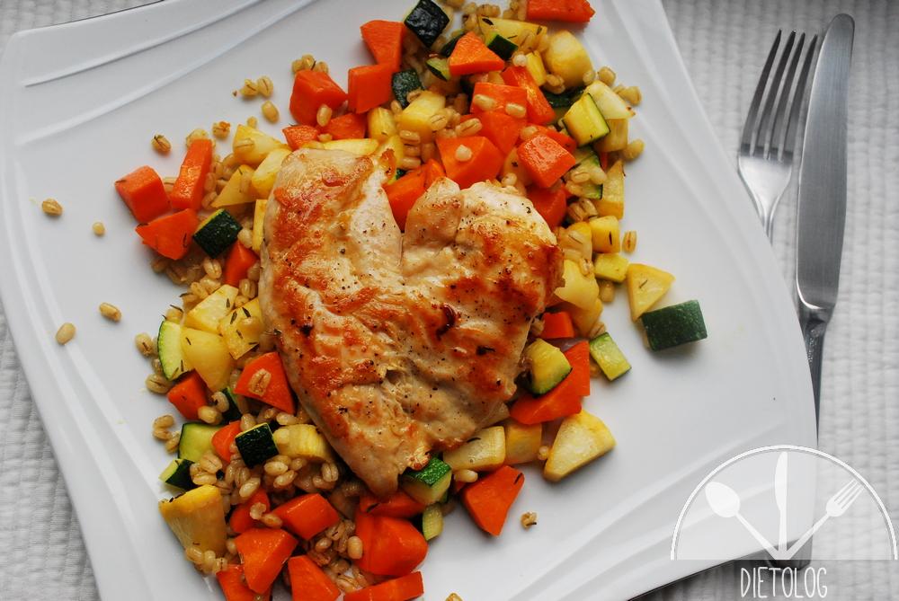 pierś kurczaka na peczaku