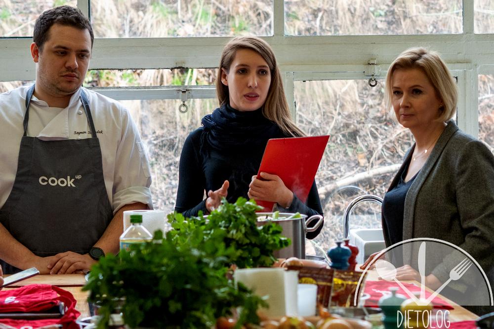 rozpoczęcie warsztatów kulinarnych indyk z europy przez organizatorów