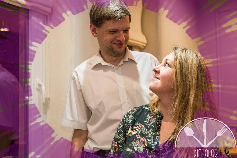 Angie i Tomek spojrzenie