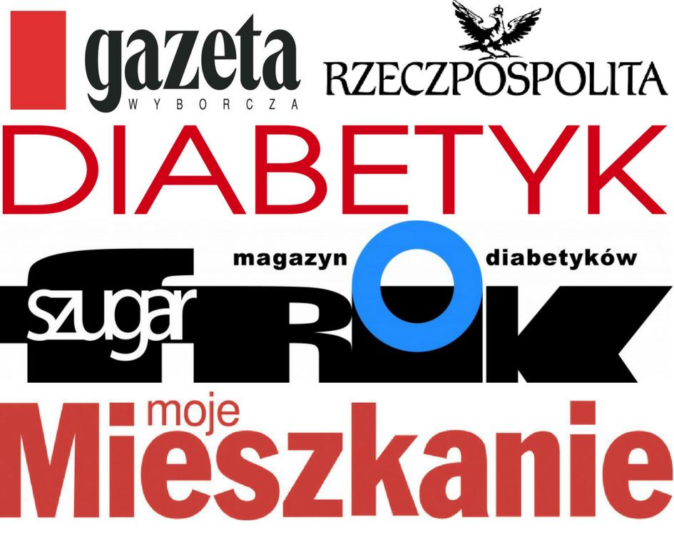 tytuły gazet z artykułami dietologa