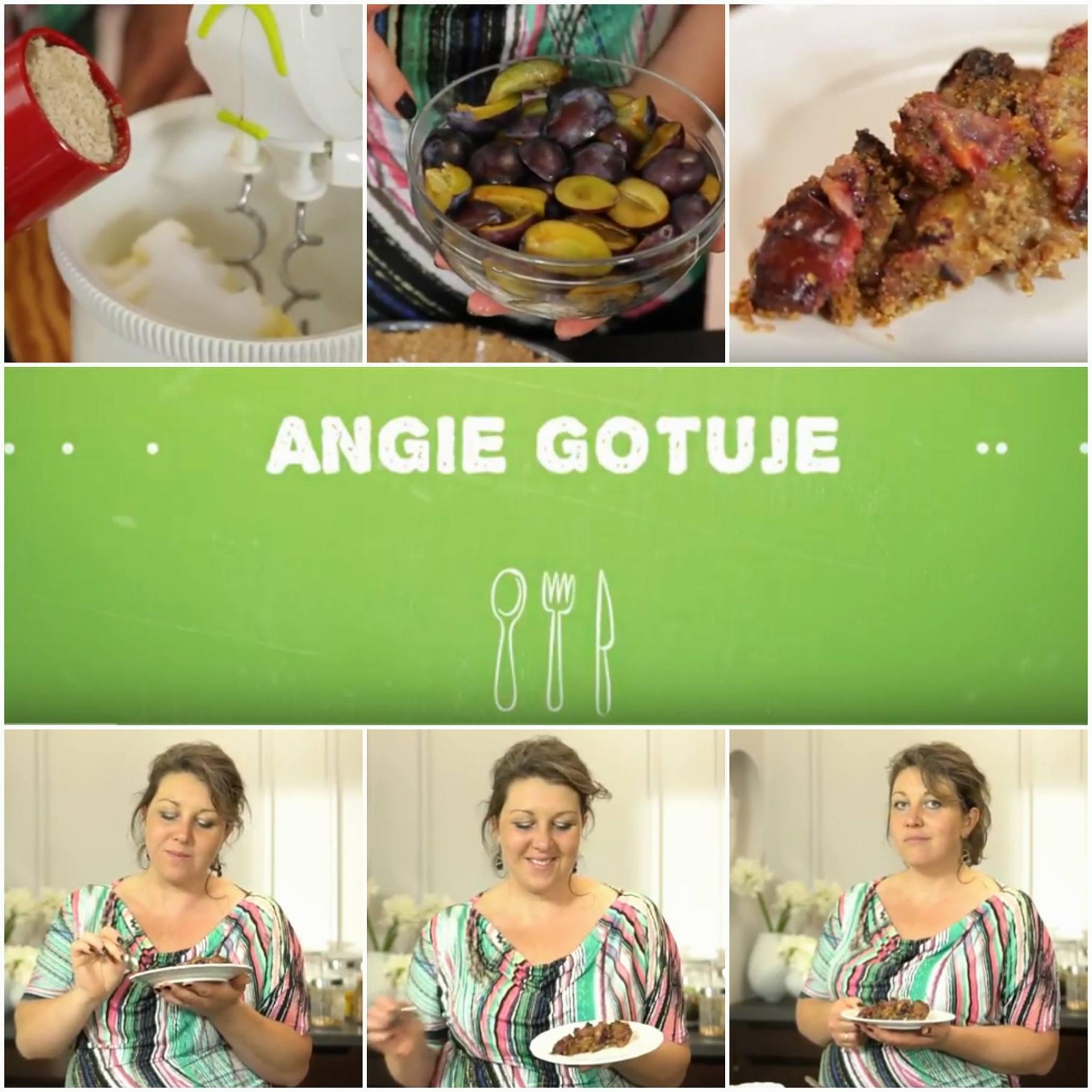 angie gotuje tarta ze śliwkami