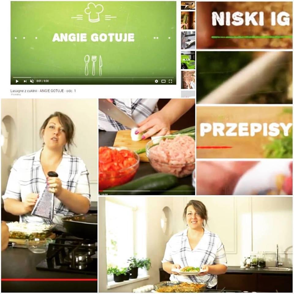 angie gotuje pierwszy odcinek lasagne z cukinii