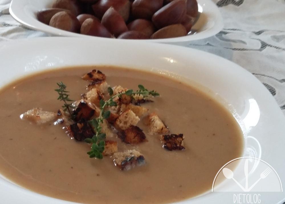 zupa krem z kasztanów