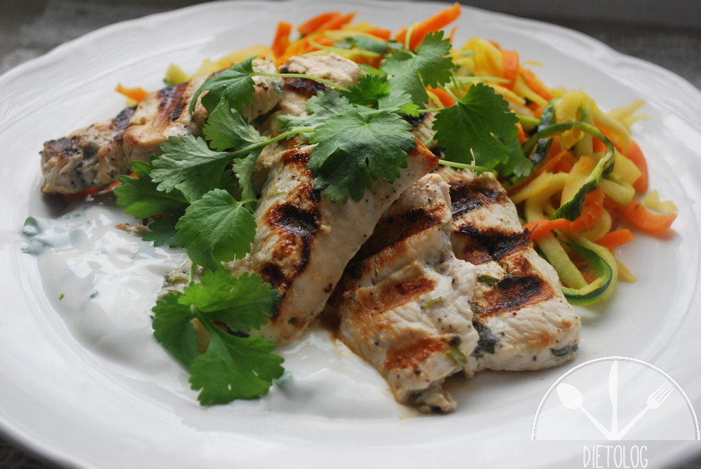 pierś kurczaka z warzywami