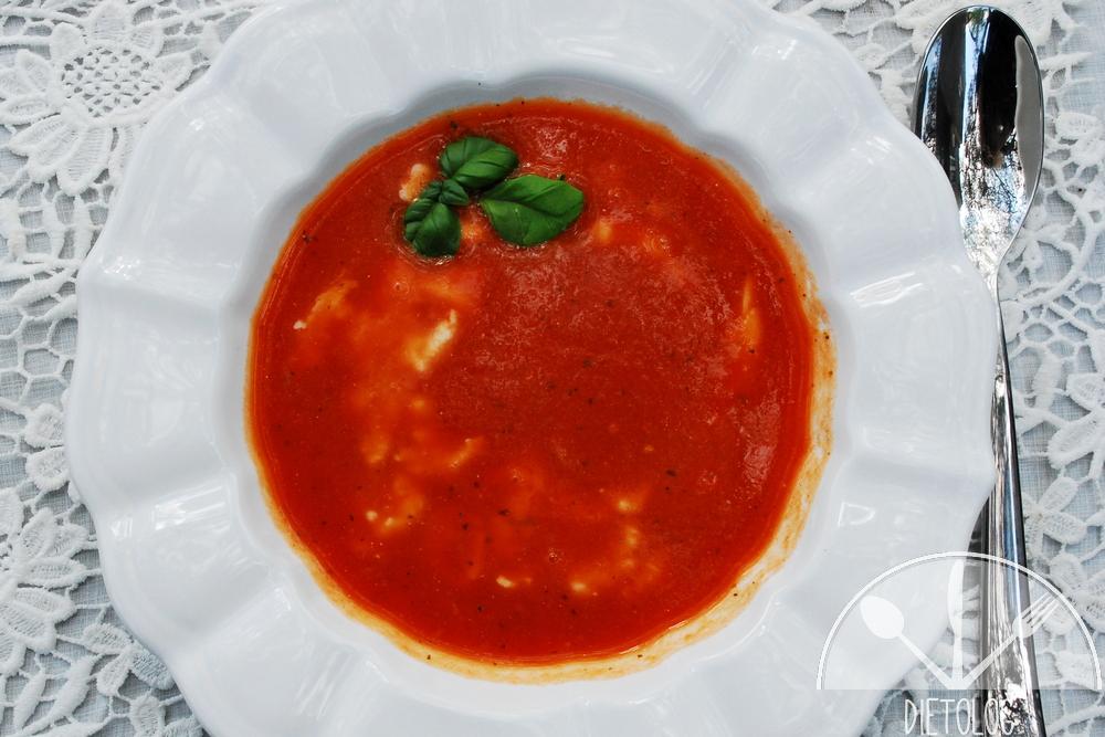 zupa pomidorowa dla diabetyka