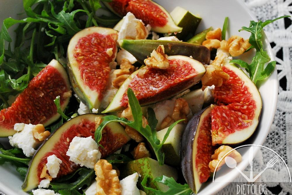 sałatka z figą