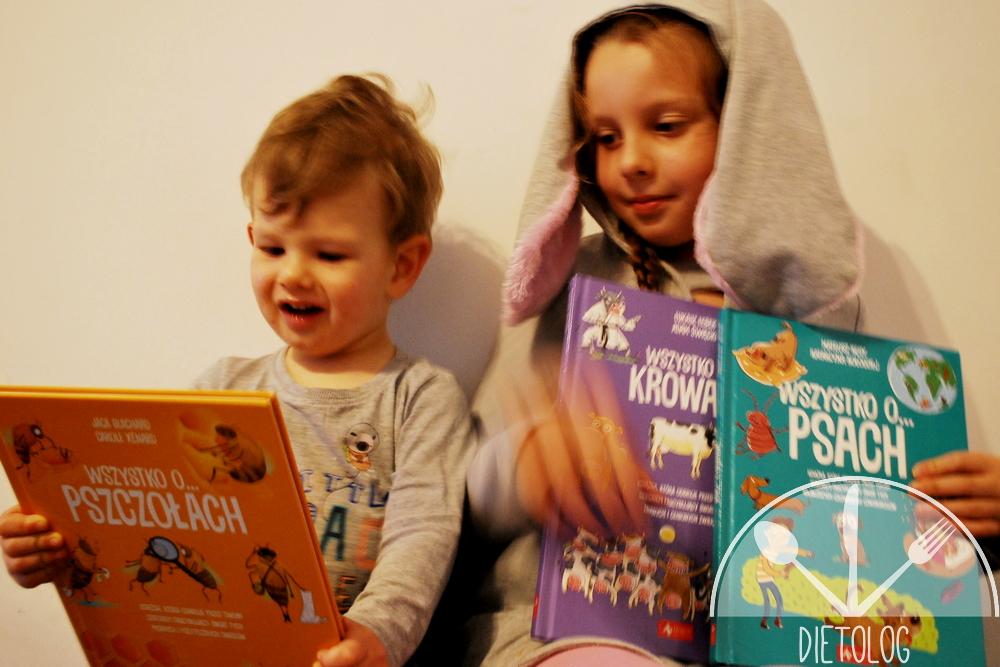 """książki dla dzieci z serii """"Wszystko o ..."""""""