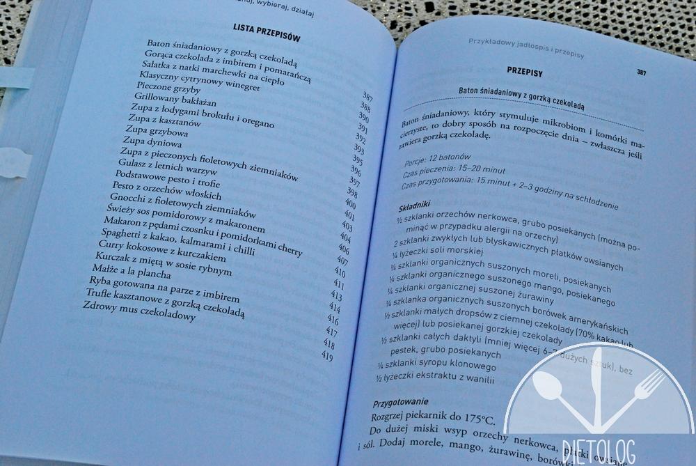 przepisy z książki Jedz by pokonać chorobę