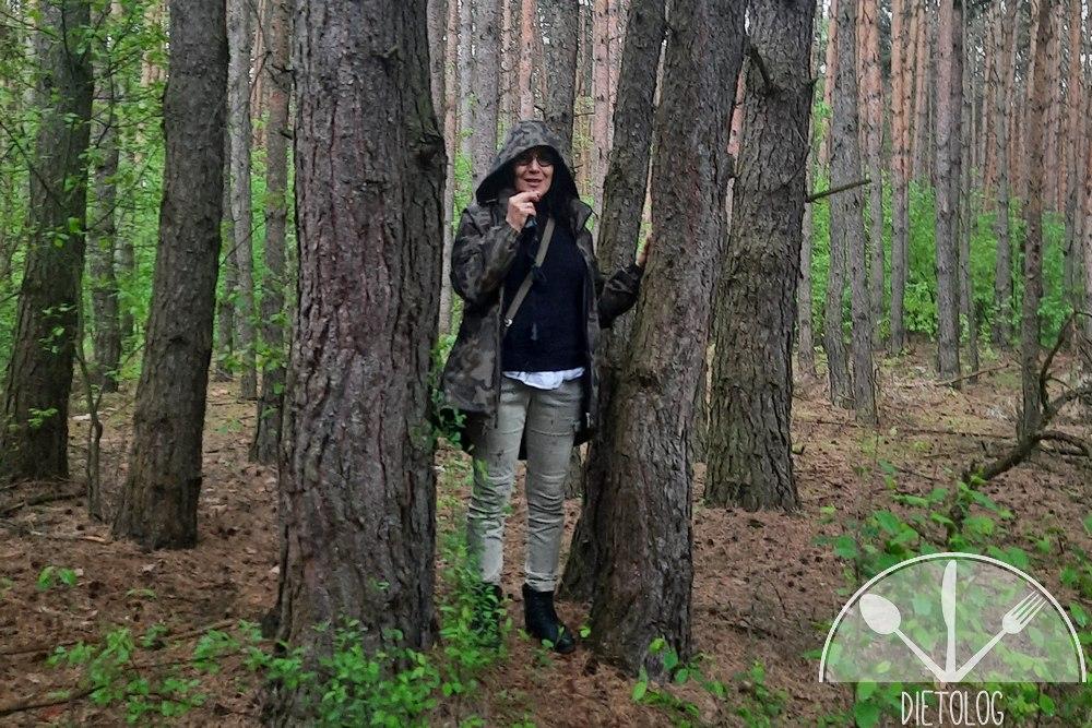 Jola Sokołowska kąpiele leśne